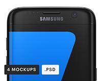 Samsung Galaxy S7 Edge Mockups