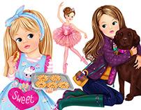 Sindy Dolls' Illustrations 2012-2016