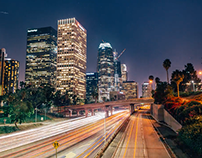 Downtown LA Timelapse
