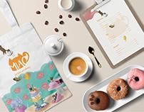 Miao Cat Cafe Visual Identity