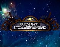 Bill & Maggie's Intergalactic Taxi Service: Trailer 1