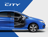 All-new Honda City 2014 Microsite