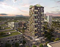 Highrise competition in Denmark_Copenhagen | CGI