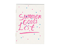 Summer Goals List