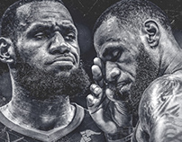 NBA Art | Do or Die | Game 4 | CLE vs GSW