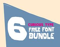 CURIOUS TYPE FREE FONT BUNDLE