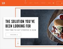 Website Banner concept 2017