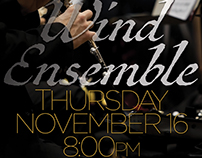 Poster for Wind Ensemble