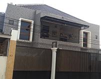 Desain Arsitektur Rumah Kos Bendul Merisi Surabaya