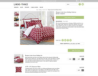 Linens and Things - Product Page