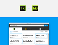 Typekit & Self Hosted Fonts in Adobe Muse