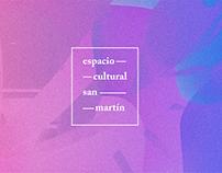 Sistema de Identidad - Espacio Cultural San Martín