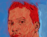 Ahmad Kadi Self Portrait