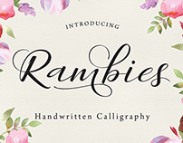 Rambies - Handwritten Calligraphy