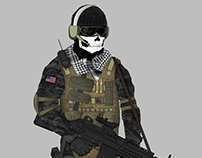 US Delta Force Concept Art