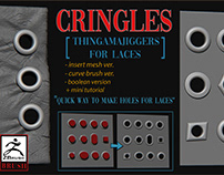 Cringles for laces on Artstation Store