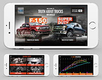 Mobile App for Major Automotive Company