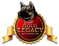 Marca para criadero de perros akitas