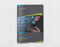 Corporate Brochure Template Vol.43 -12 Pages