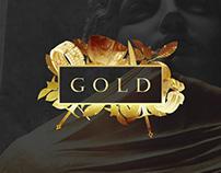 GOLD . Graphic design - 2017