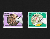 SWISS POST – STAMPS