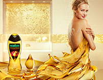 Palmolive Gold Liquid Dress