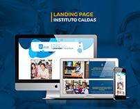 Landing Page Instituto Caldas