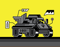 Heavy Machine - Vector