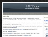 ECET Forum