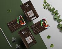 Business card (Pegasus restaurant)