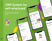 Fiesta - CRM system for self-employed | UI/UX