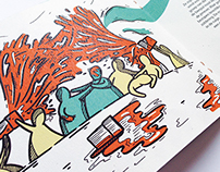 Illustration Book the curse of Nagele