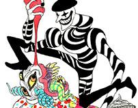 Clowns vs. Mimes