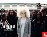 Ray-Ban // Never Hide