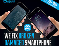 Smartphone Repair Flyer/Poster