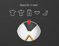 Quick & Instant Washing Machine Futuristic Concept