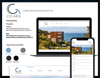 CG ARC Web Design for Architecture group