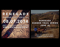 Social Media Graphics: Renegade Race Series
