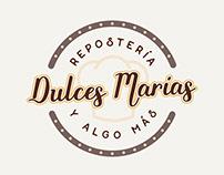 REPOSTERÍA DULCES MARÍAS // IDENTIDAD VISUAL
