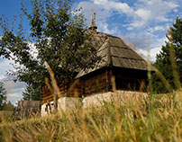 Open air Museum Old Village Sirogojno, Zlatibor, Serbia