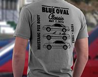2016 FOAC Blue Oval Classic T-Shirt Design