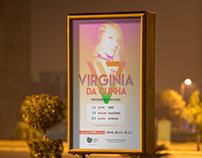 Flyer Design for VirginiaDaCunha - Singer