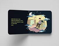 The Bedtime Stories | Children Book Illustration