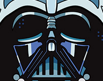 Star wars illustration set