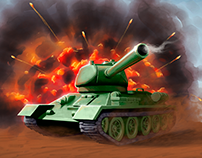 Tank Battles board game