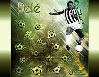 Hotsite comemorativo dos 70 anos do jogador Pelé