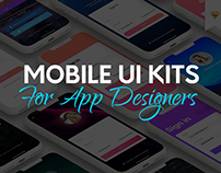 40+ Mobile UI Kits for App Designers to Get Inspired!