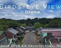 Bird's-eye View - Edo-Tokyo Open Air...Museum by Drone
