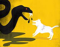 Standing Rock Illustration
