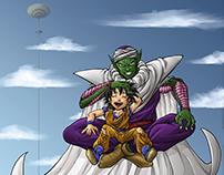 Fanart Piccolo and Gohan